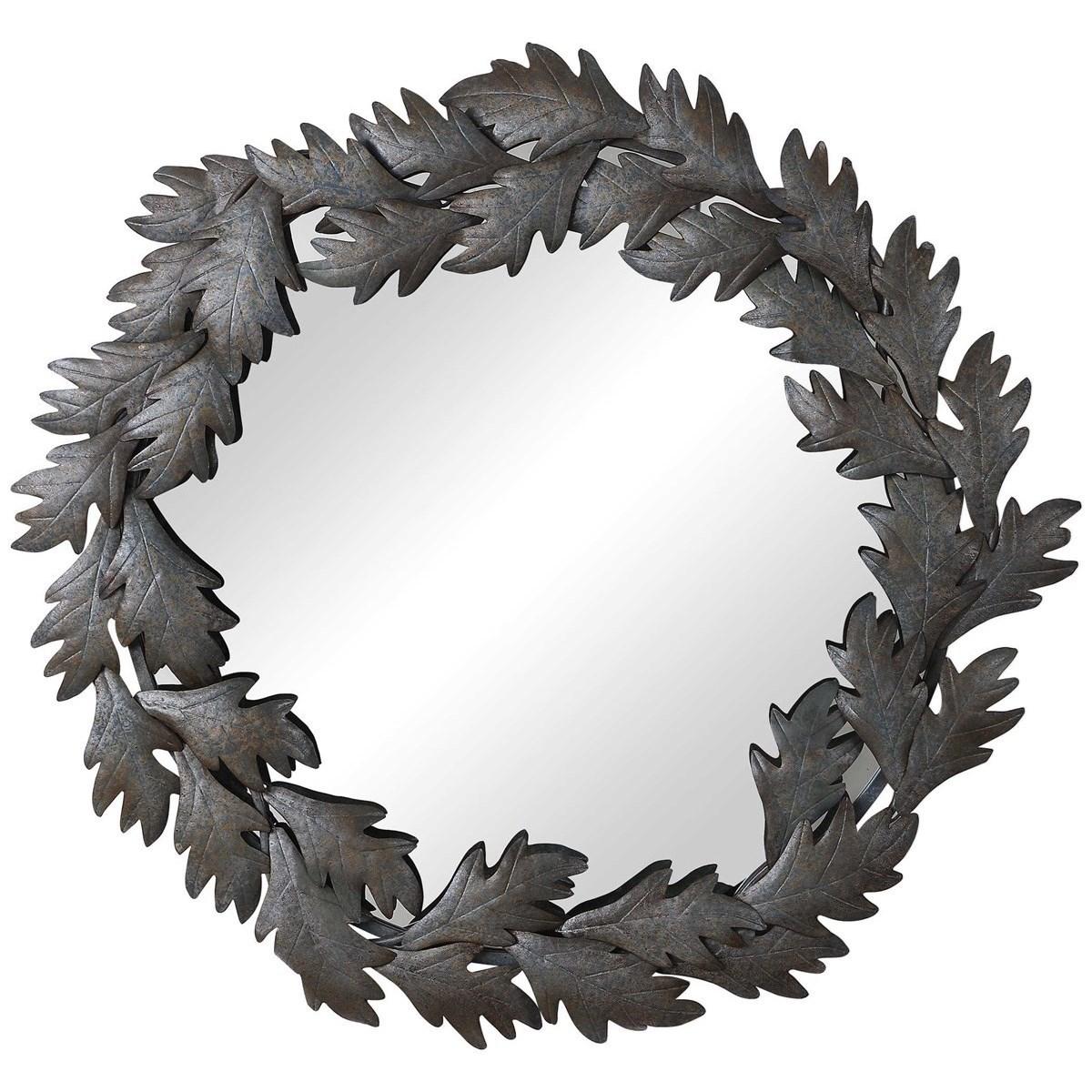 Zandra Round Mirror