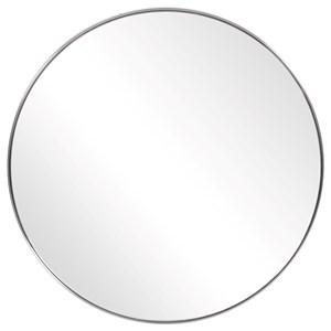 Coulson Nickel Round Mirror