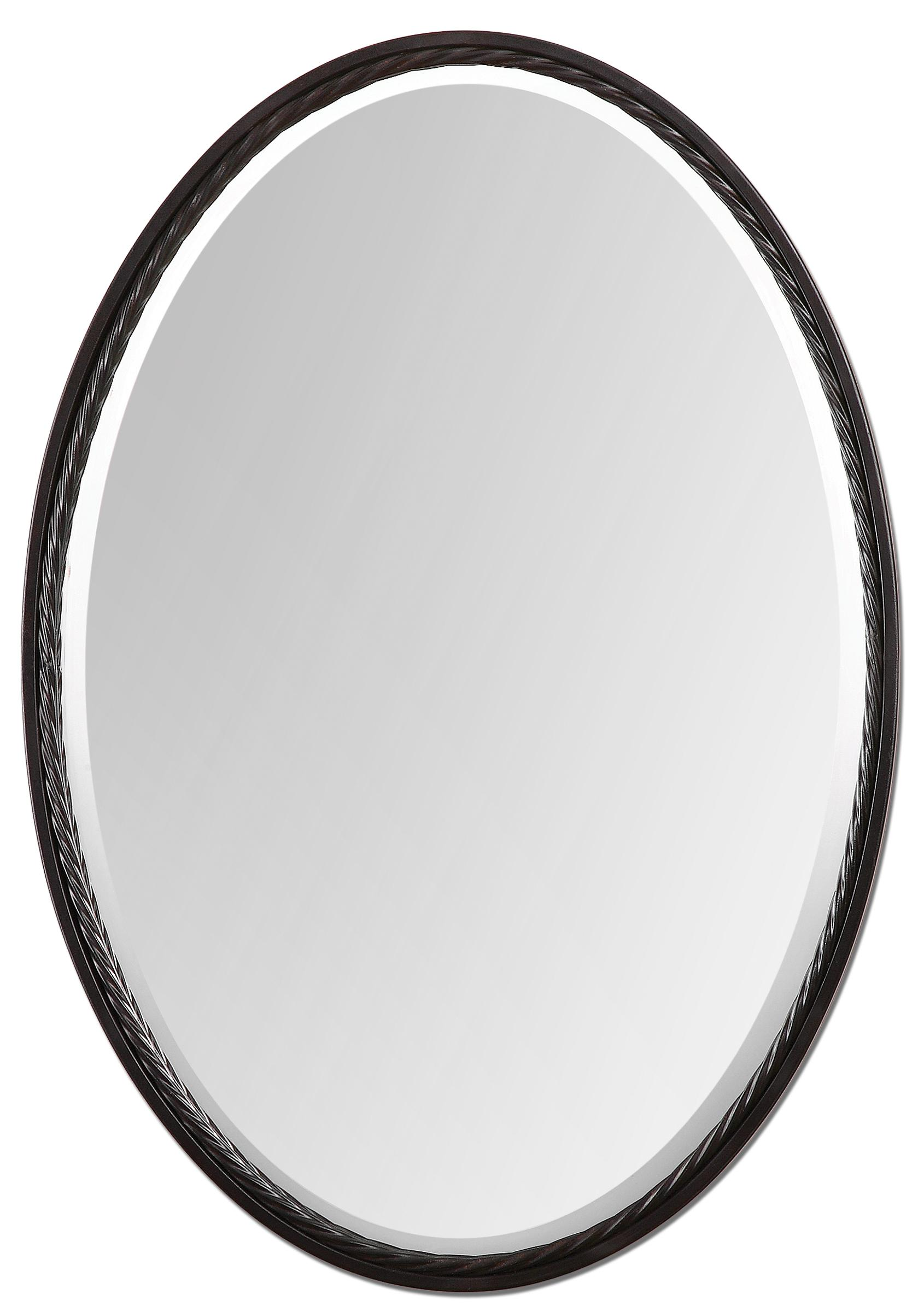 Uttermost Mirrors Casalina Oil Rubbed Bronze - Item Number: 01116