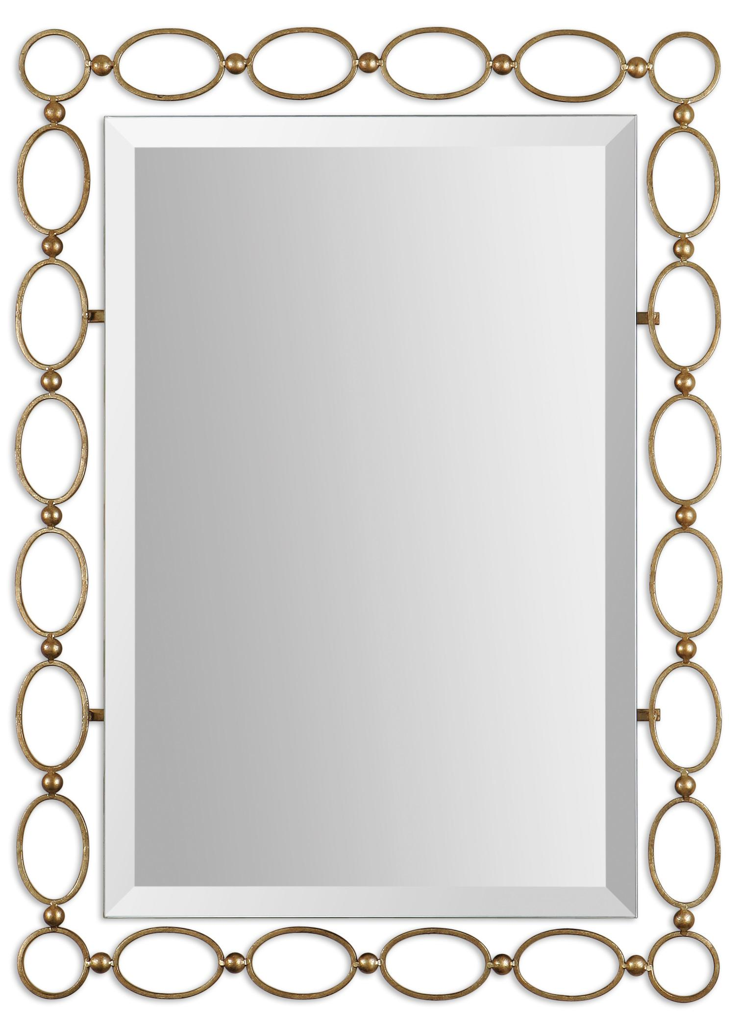 Uttermost Mirrors Lauria Gold Mirror - Item Number: 01119