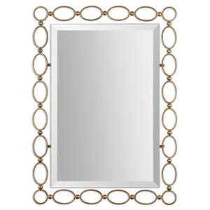 Uttermost Mirrors Lauria Gold Mirror