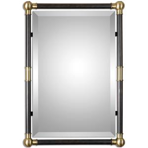 Uttermost Mirrors Rondure Bronze Metal Wall Mirror