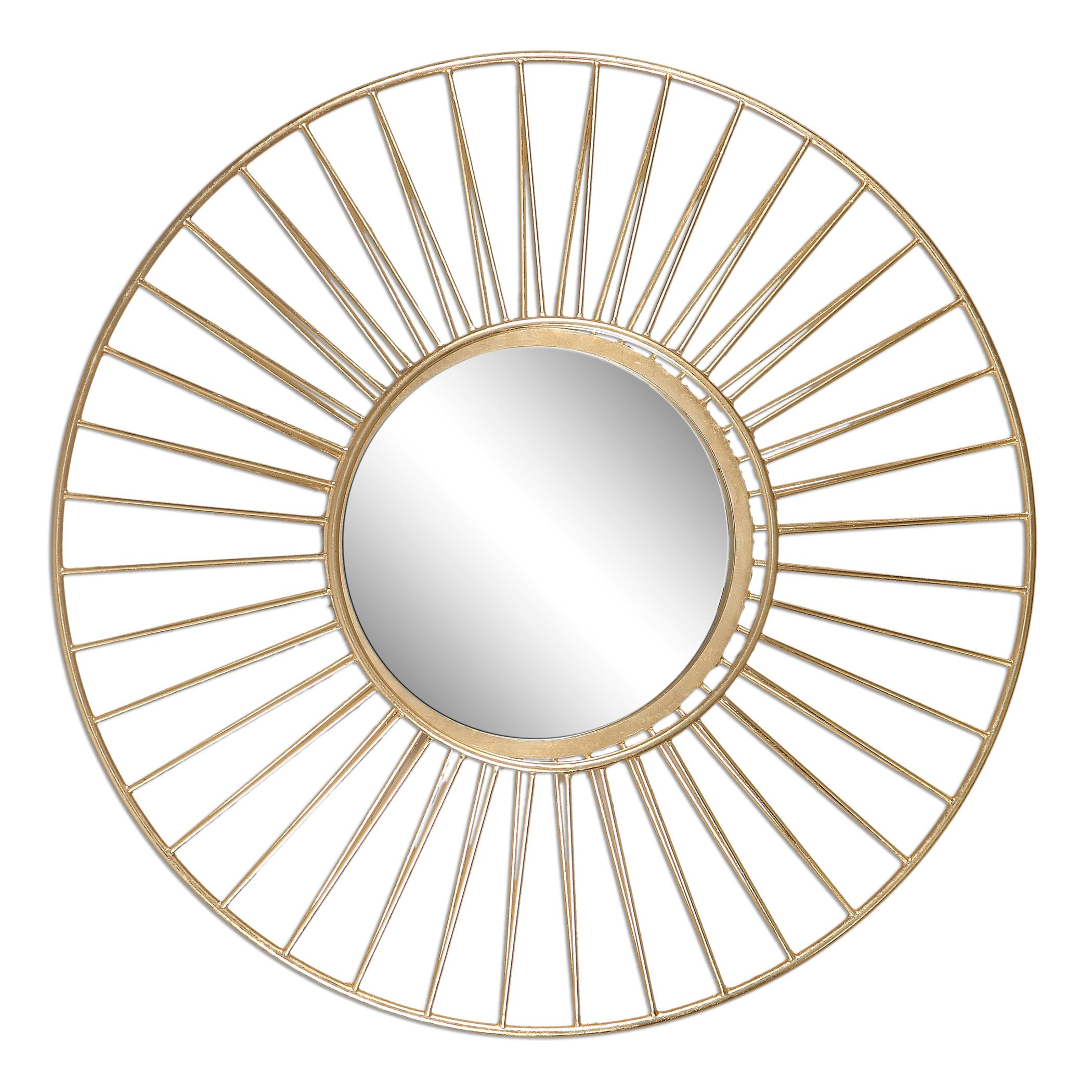 Uttermost Mirrors Caspian Round Mirror - Item Number: 01132