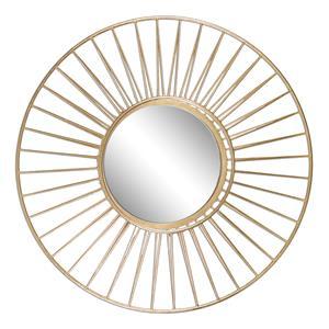 Uttermost Mirrors Caspian Round Mirror