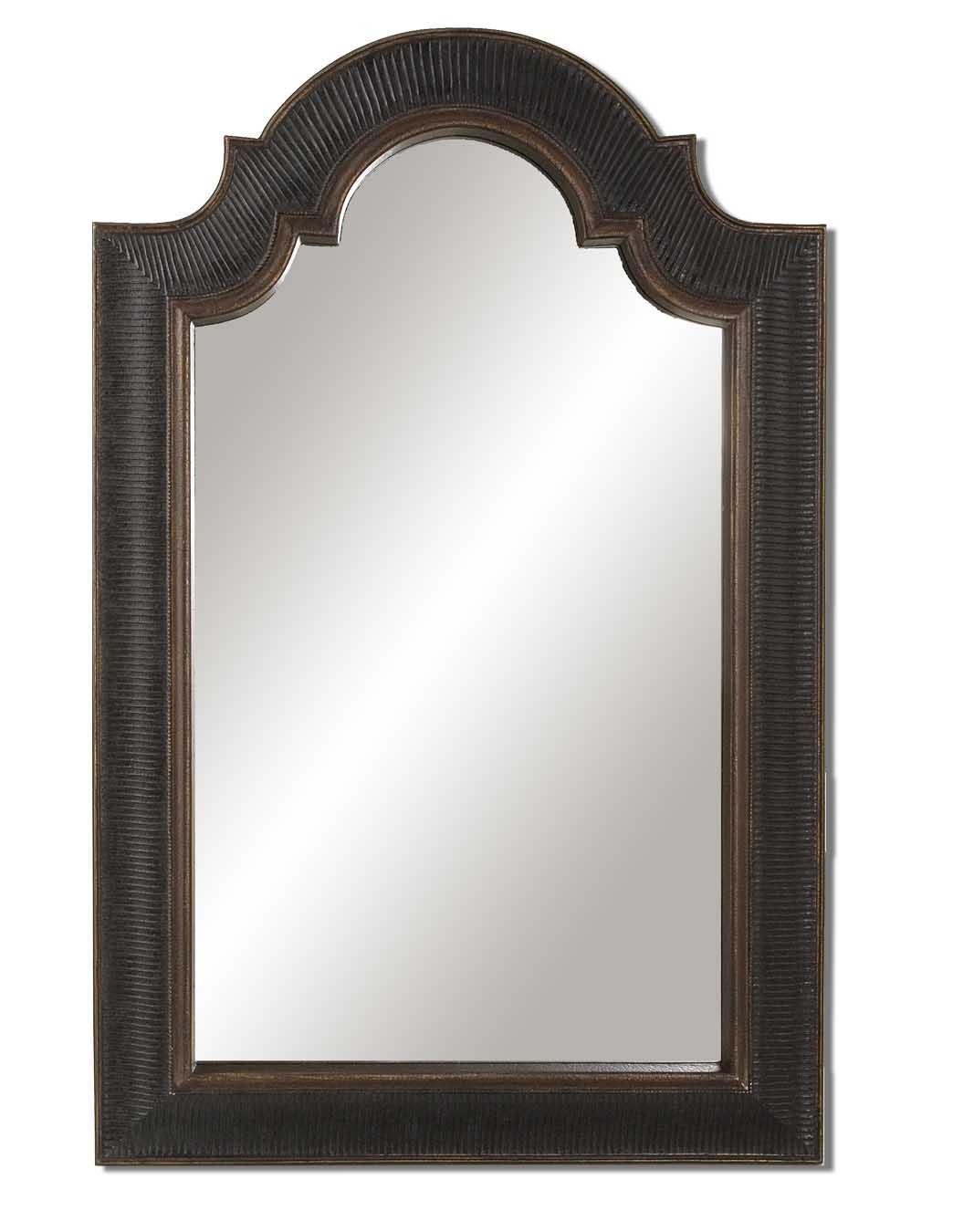 Ribbed Arch U Mirror
