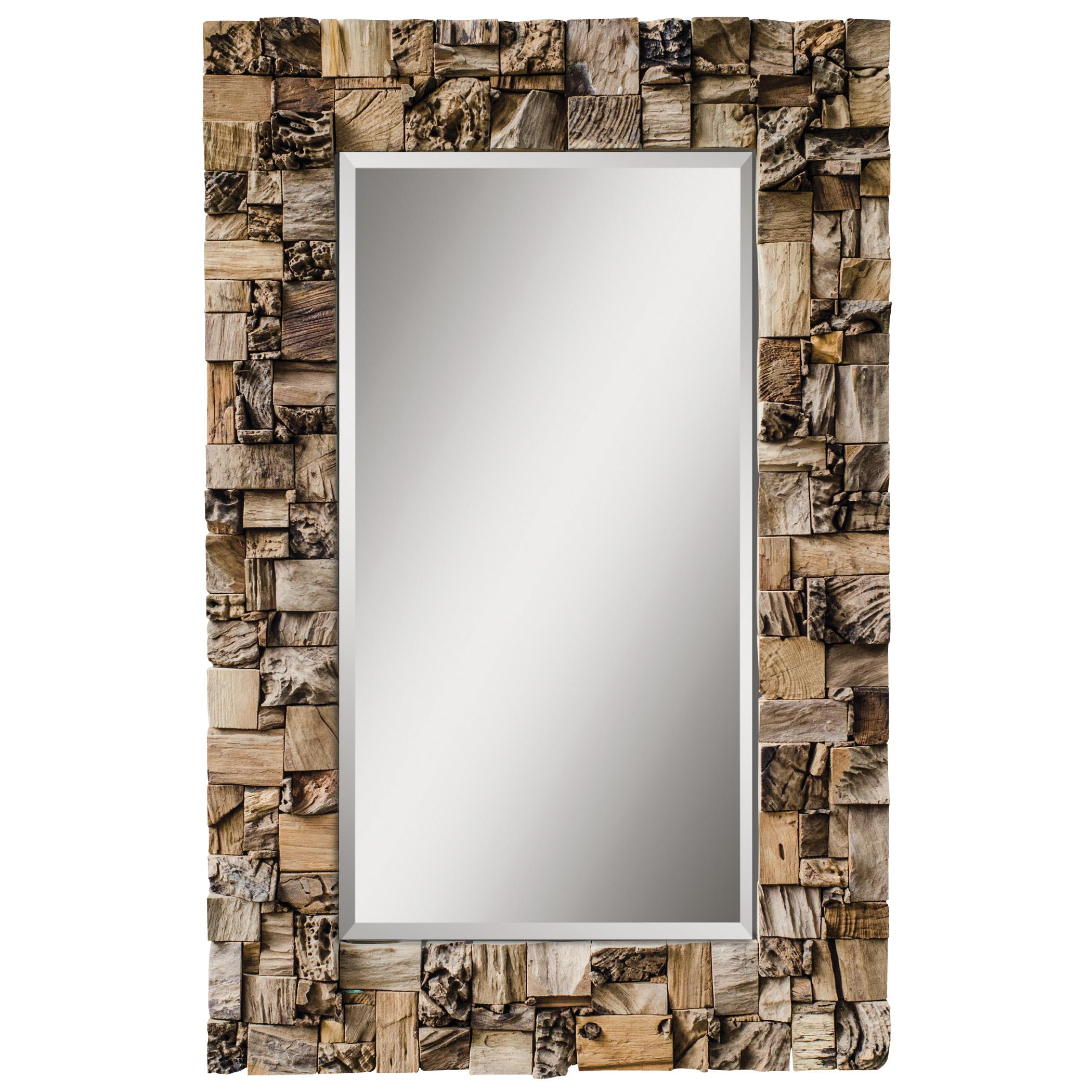 Uttermost Mirrors Thatcher Teak Root Mirror - Item Number: 05031