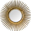 Uttermost Mirrors Destello Gold Starburst Mirror - Item Number: 05032