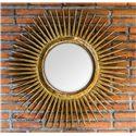 Uttermost Mirrors Destello Gold Starburst Mirror