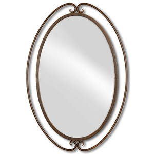 Uttermost Mirrors Kilmer Wrought Iron Mirror