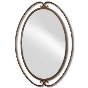 Uttermost Mirrors Kilmer Wrought Iron Mirror