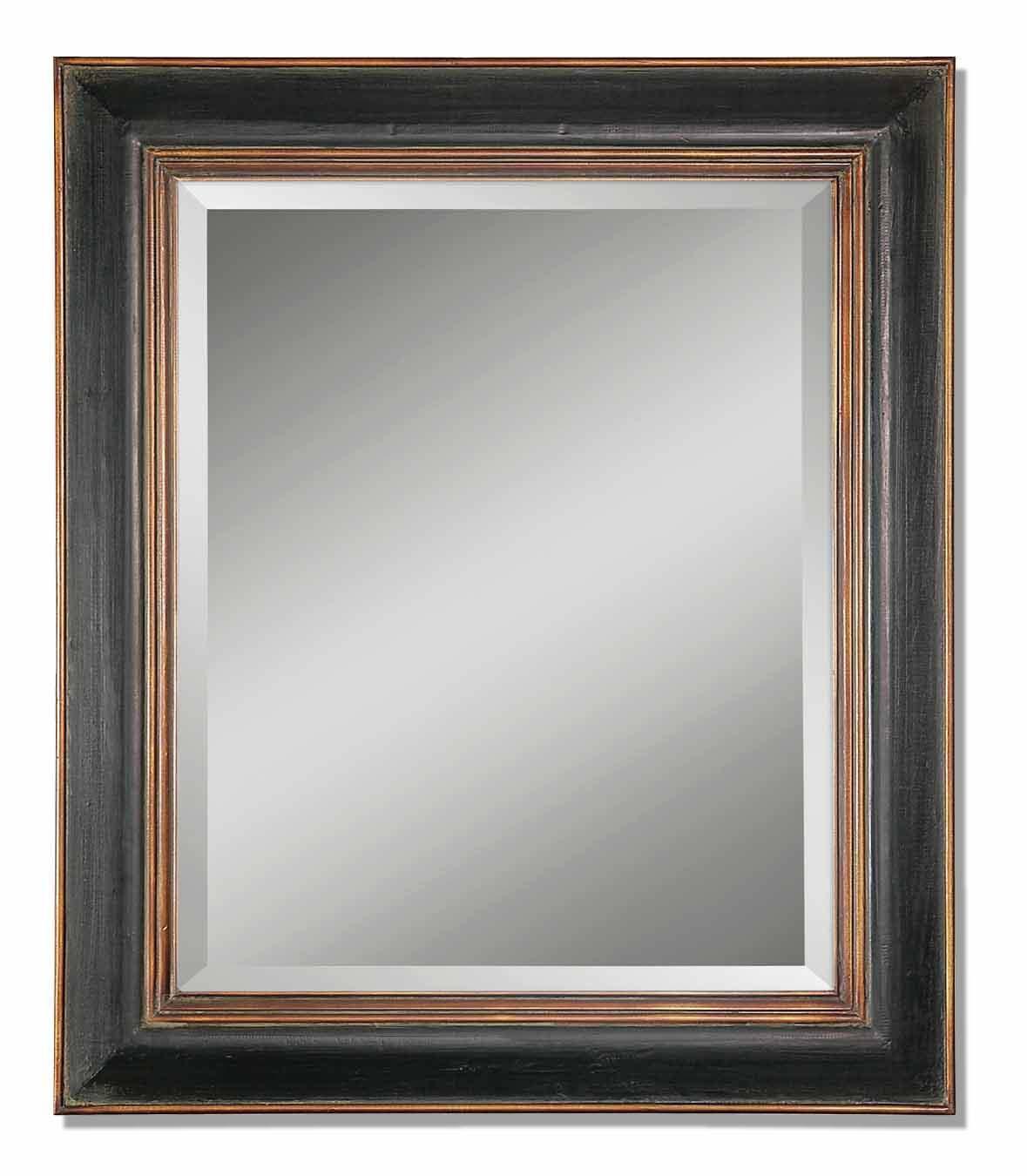 Uttermost Mirrors Fabiano Black Mirror - Item Number: 07023 B