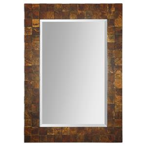 Uttermost Mirrors Ambrosia Copper Mosaic Mirror