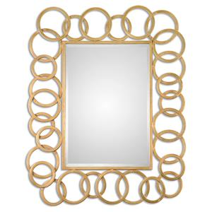 Uttermost Mirrors Amena Gold Rings Mirror