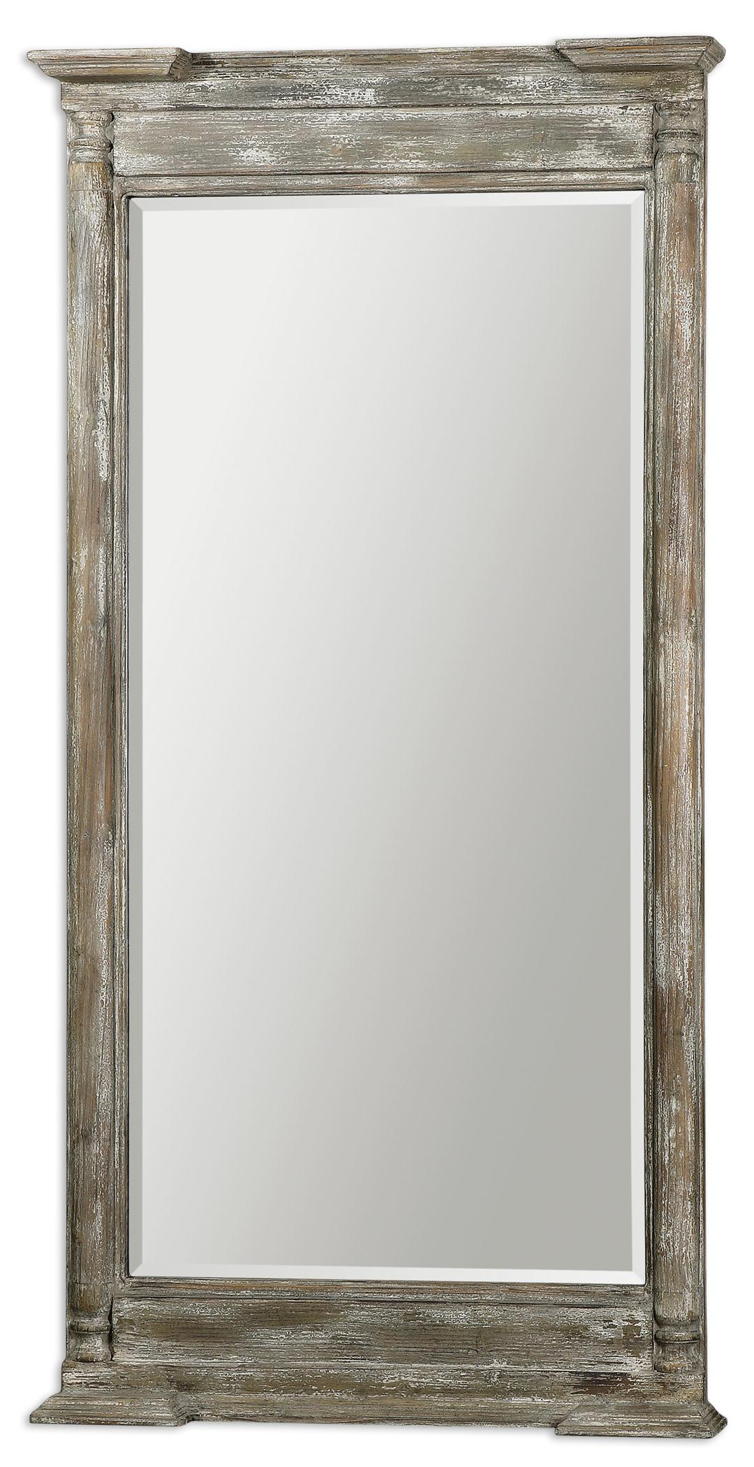 Uttermost Mirrors Valcellina Wooden Leaner Mirror - Item Number: 07652
