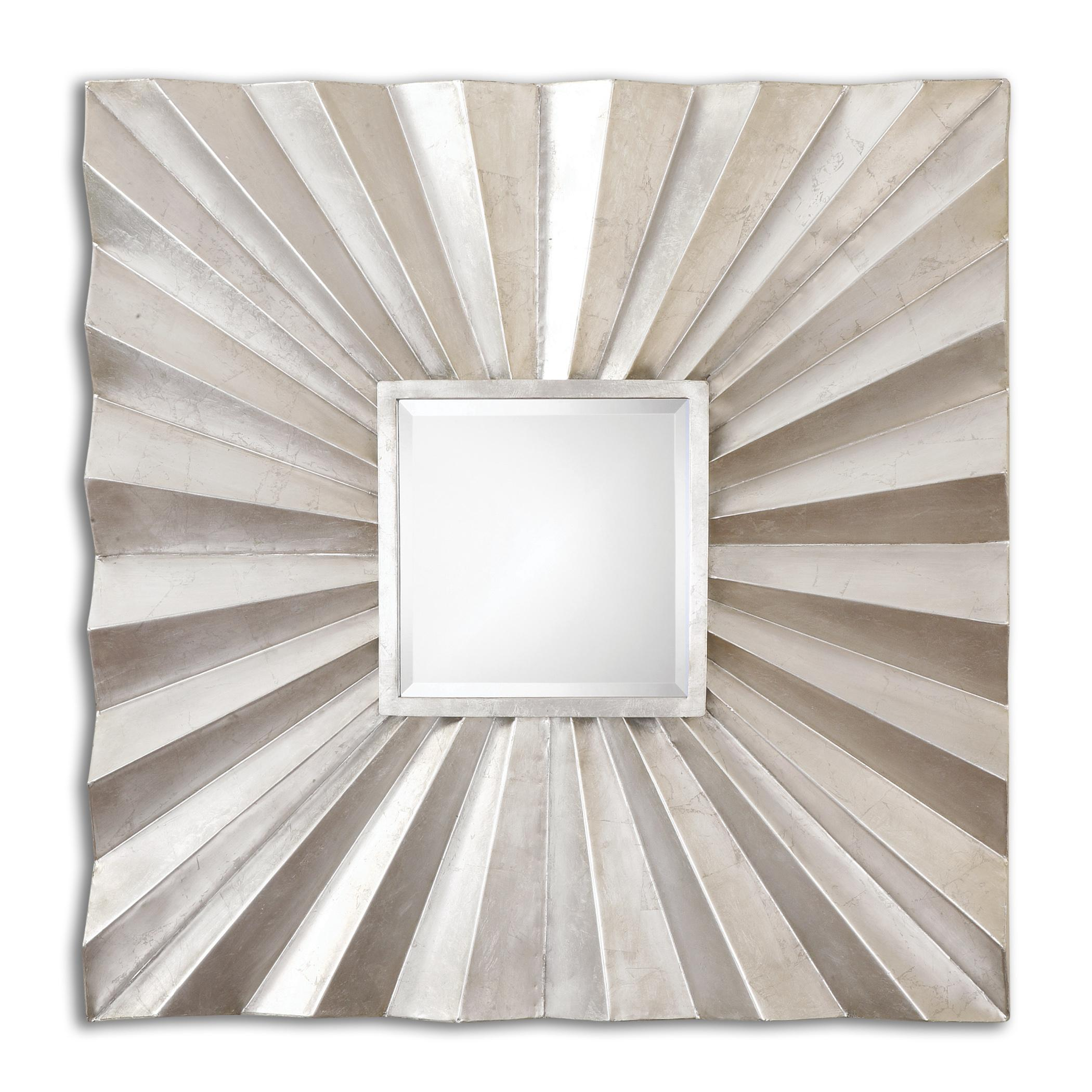 Adelmar Metal Square Mirror