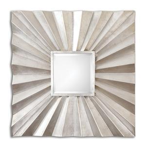 Uttermost Mirrors Adelmar Metal Square Mirror
