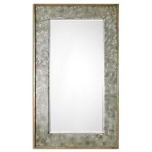 Uttermost Mirrors Leron Distressed Bronze Mirror