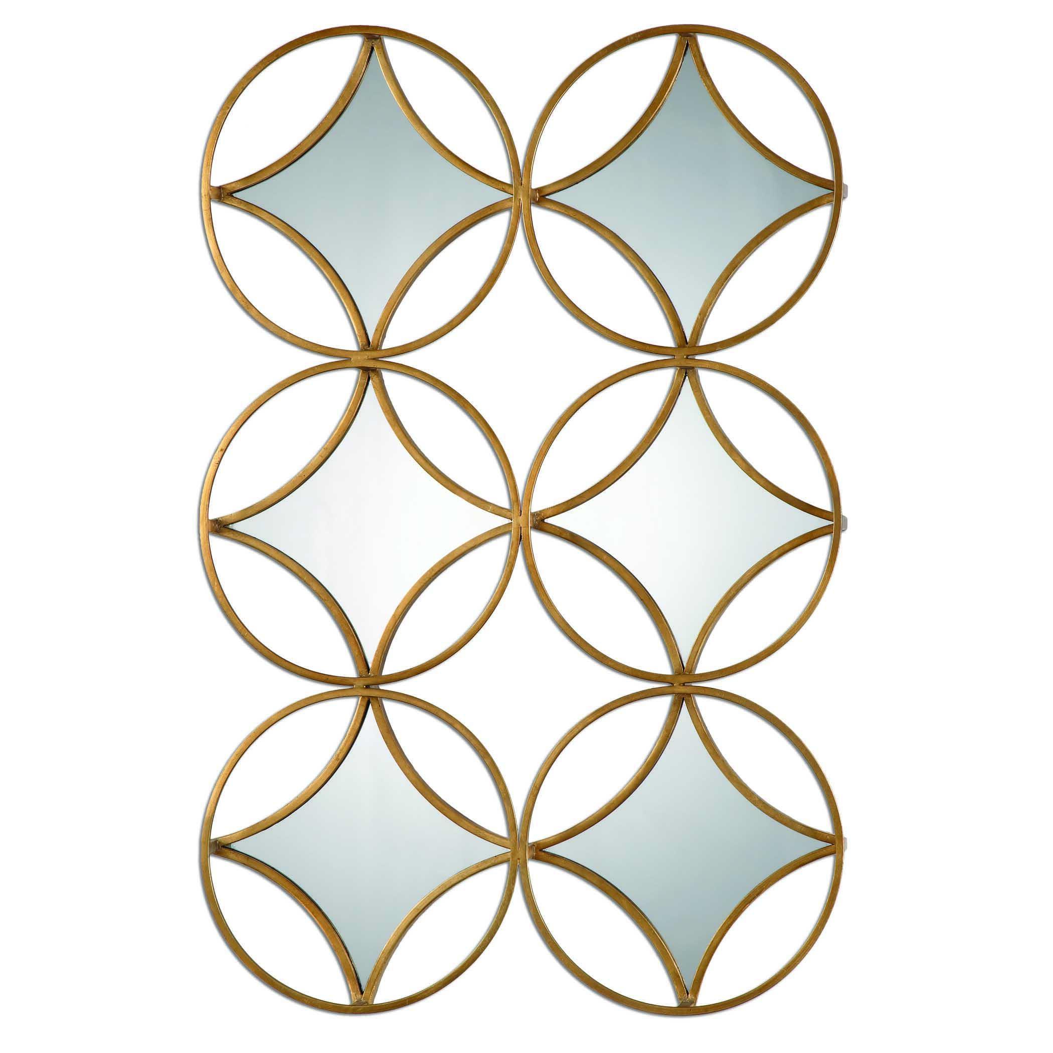 Uttermost Mirrors Zamora Geometric Mirror - Item Number: 07696