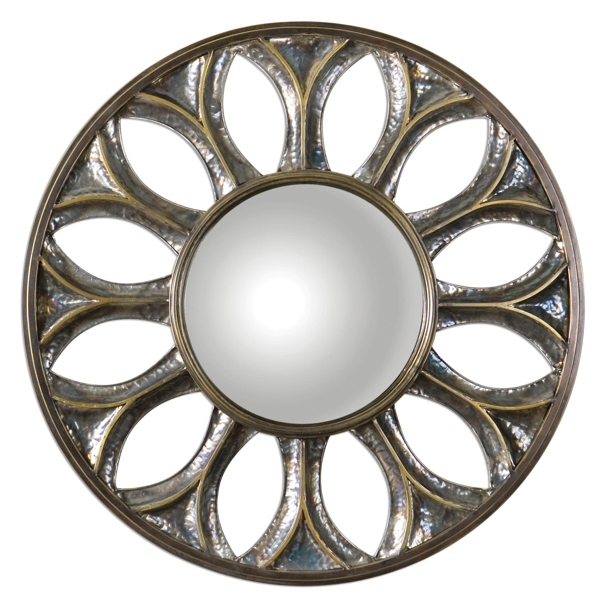 Uttermost Mirrors Yenisey Round Bronze Mirror - Item Number: 07697