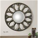 Uttermost Mirrors Yenisey Round Bronze Mirror
