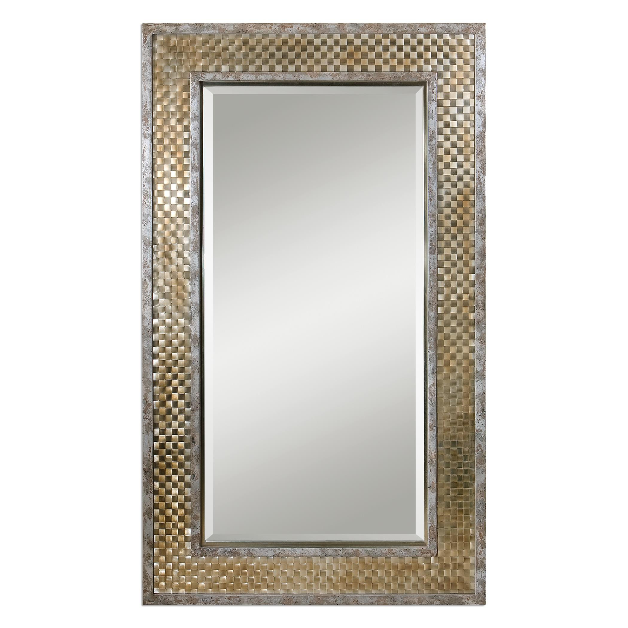 Uttermost Mirrors Mondego Woven Nickel Mirror - Item Number: 07698