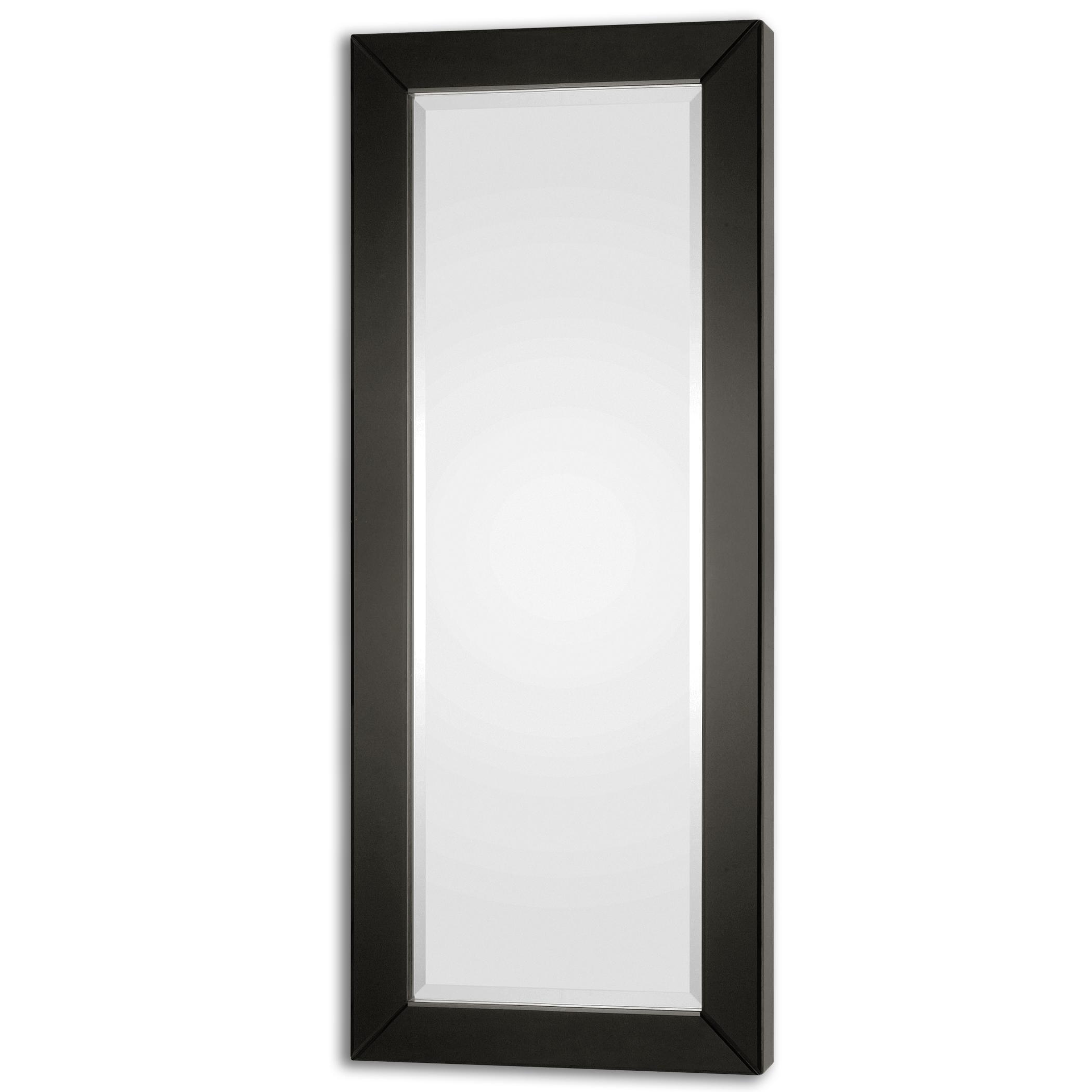 Uttermost Mirrors Hilarion Black Framed Mirror - Item Number: 08128