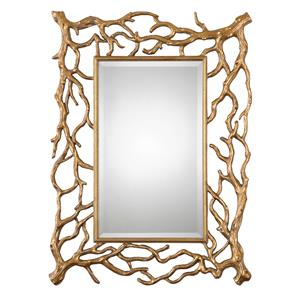 Uttermost Mirrors Sequoia Gold Tree Branch Mirror