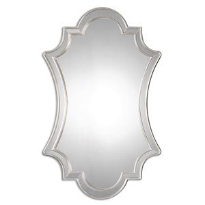 Uttermost Mirrors Elara Antiqued Silver Wall Mirror