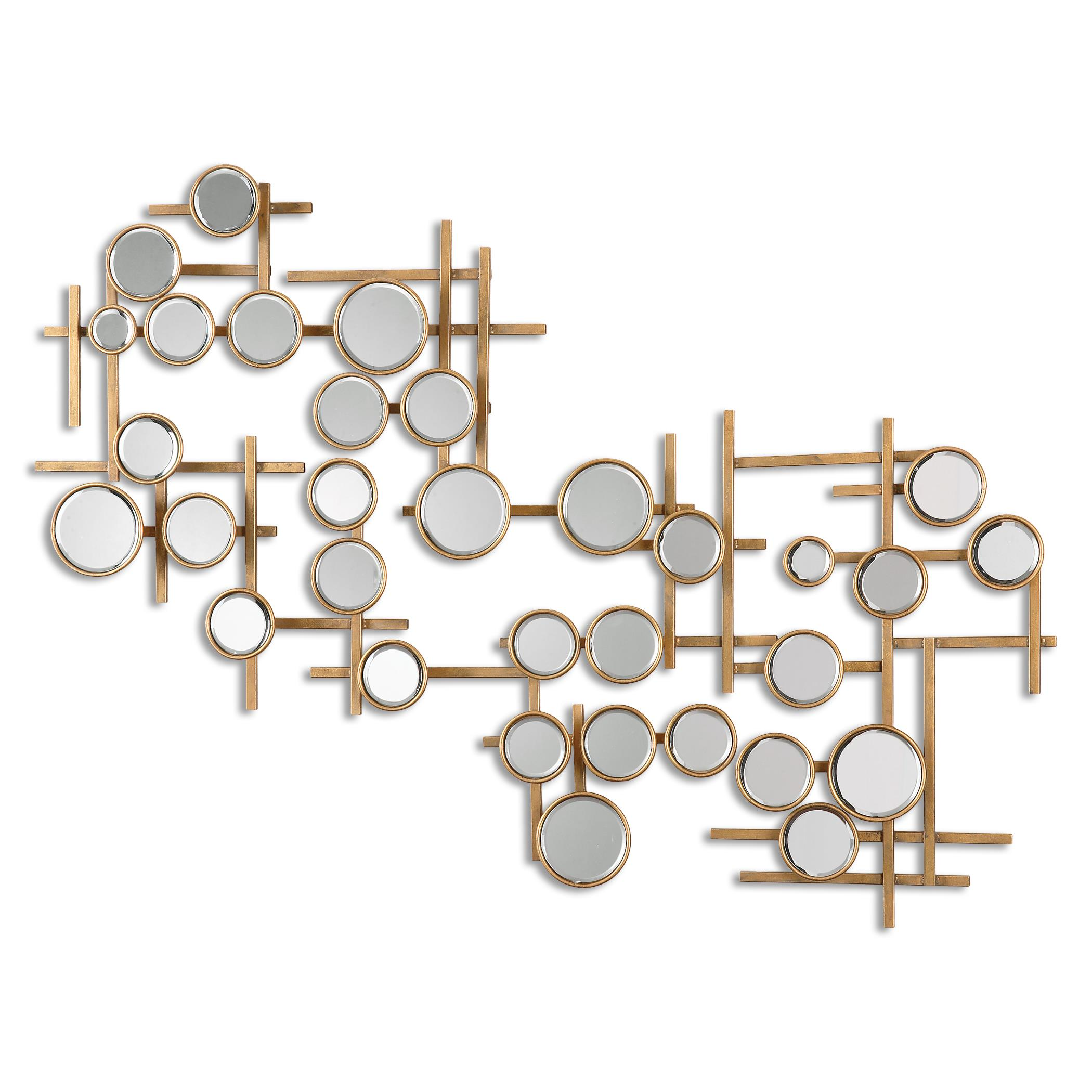 Uttermost Mirrors Britton Mirrored Wall Art - Item Number: 08138