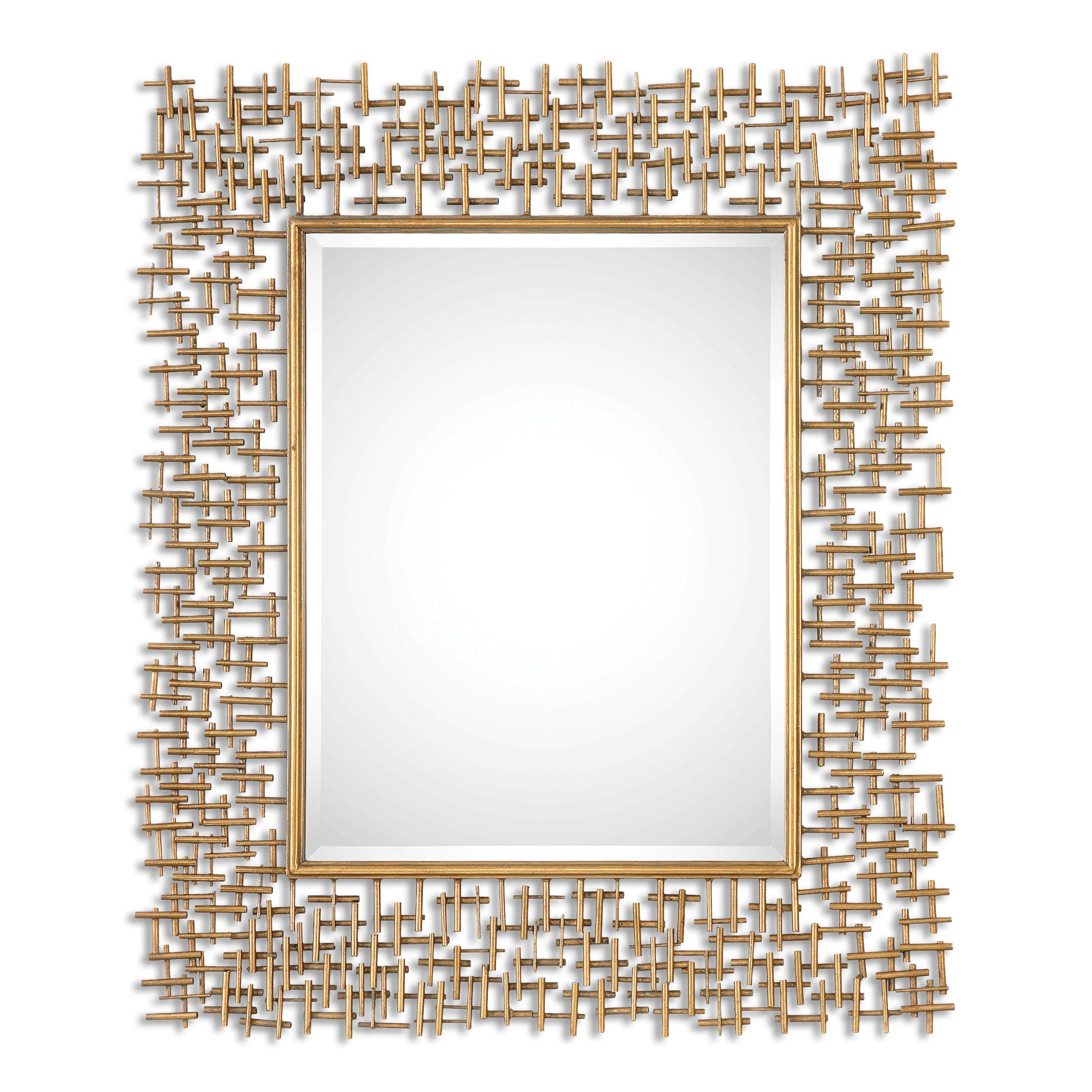 Uttermost Mirrors Nevena Gold Mirror - Item Number: 08139