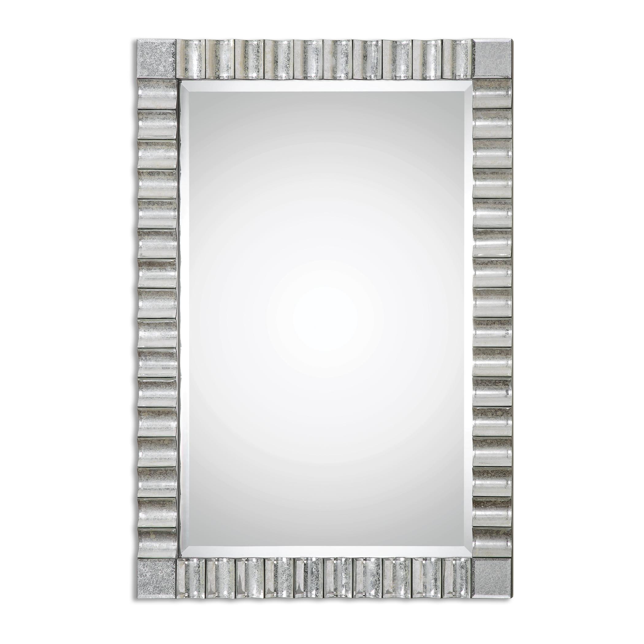 Uttermost Mirrors Amisos Scalloped Wall Mirror - Item Number: 08144