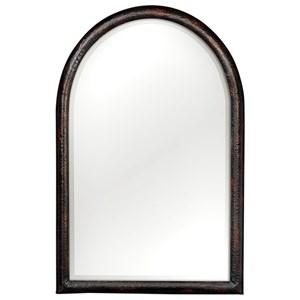 Uttermost Mirrors Rada Arch Aged Bronze Mirror