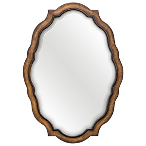 Uttermost Mirrors talicia Aged Wood Mirror