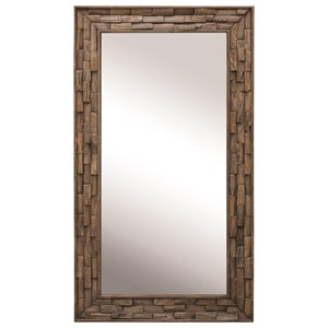 Damon Mosaic Wood Mirror