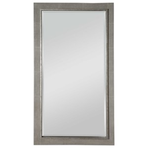 Zigrino Oversized Gray Mirror