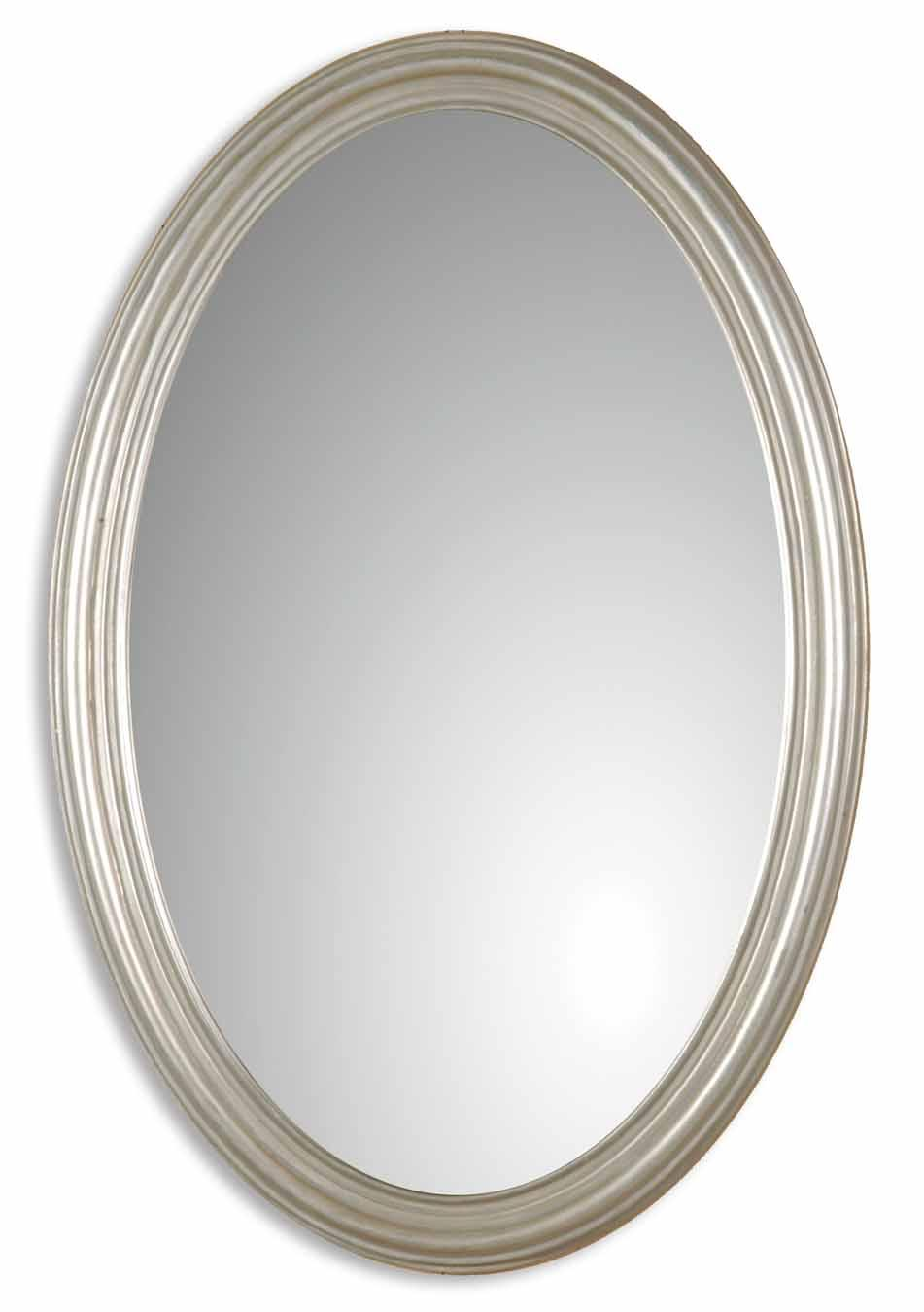 Uttermost Mirrors Franklin Oval Silver U - Item Number: 08601 P