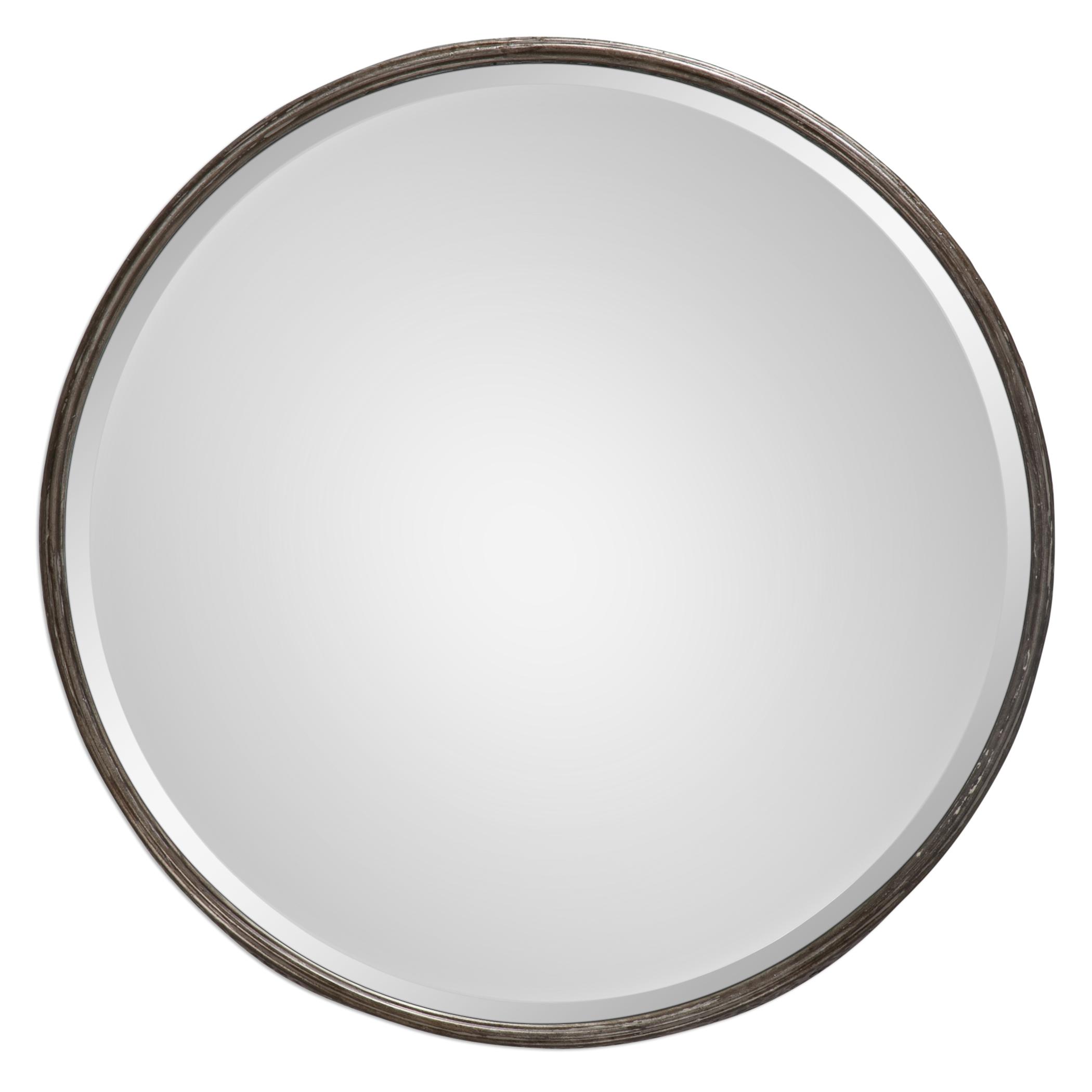 Uttermost Mirrors Nova Round Metal Mirror - Item Number: 09034