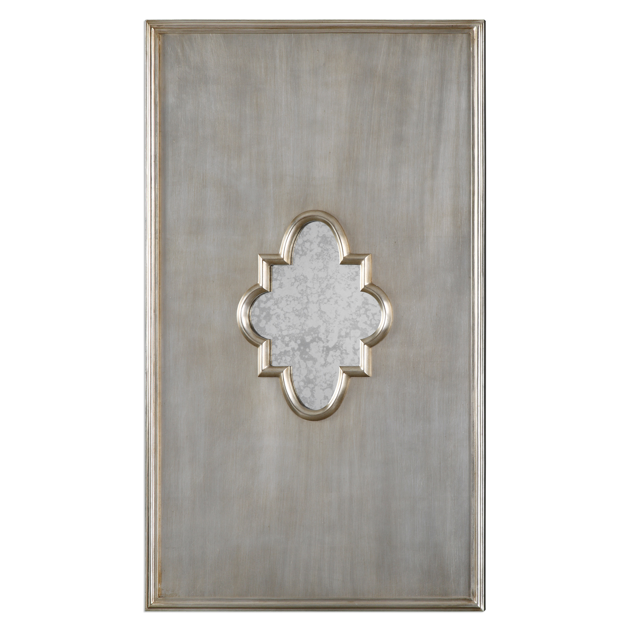 Uttermost Mirrors Gardanne Silver Leaf Antique Mirror - Item Number: 09036