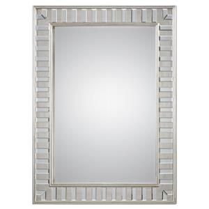 Lanester Silver Leaf Mirror