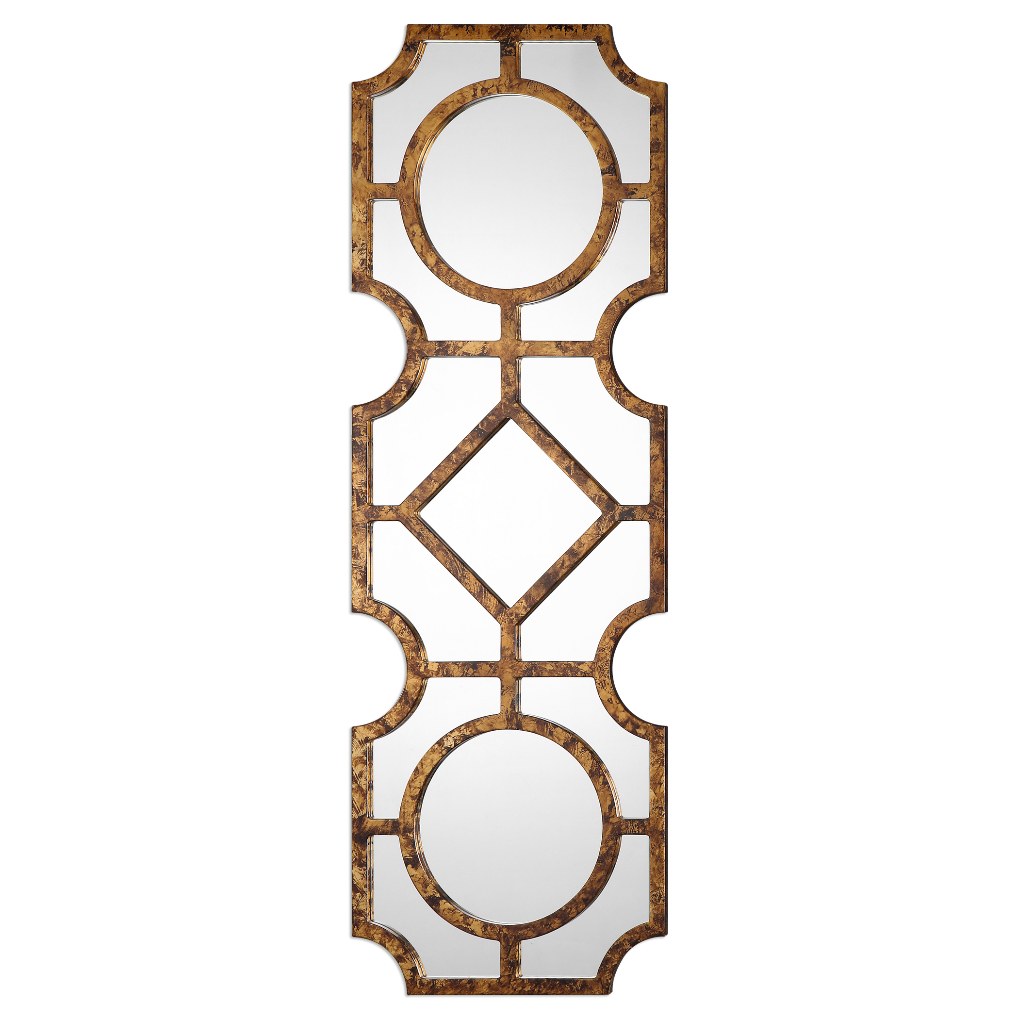 Uttermost Mirrors Lupano Geometric Mirror - Item Number: 09049