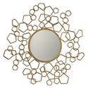 Uttermost Mirrors Finnian Modern Gold Mirror - Item Number: 09054