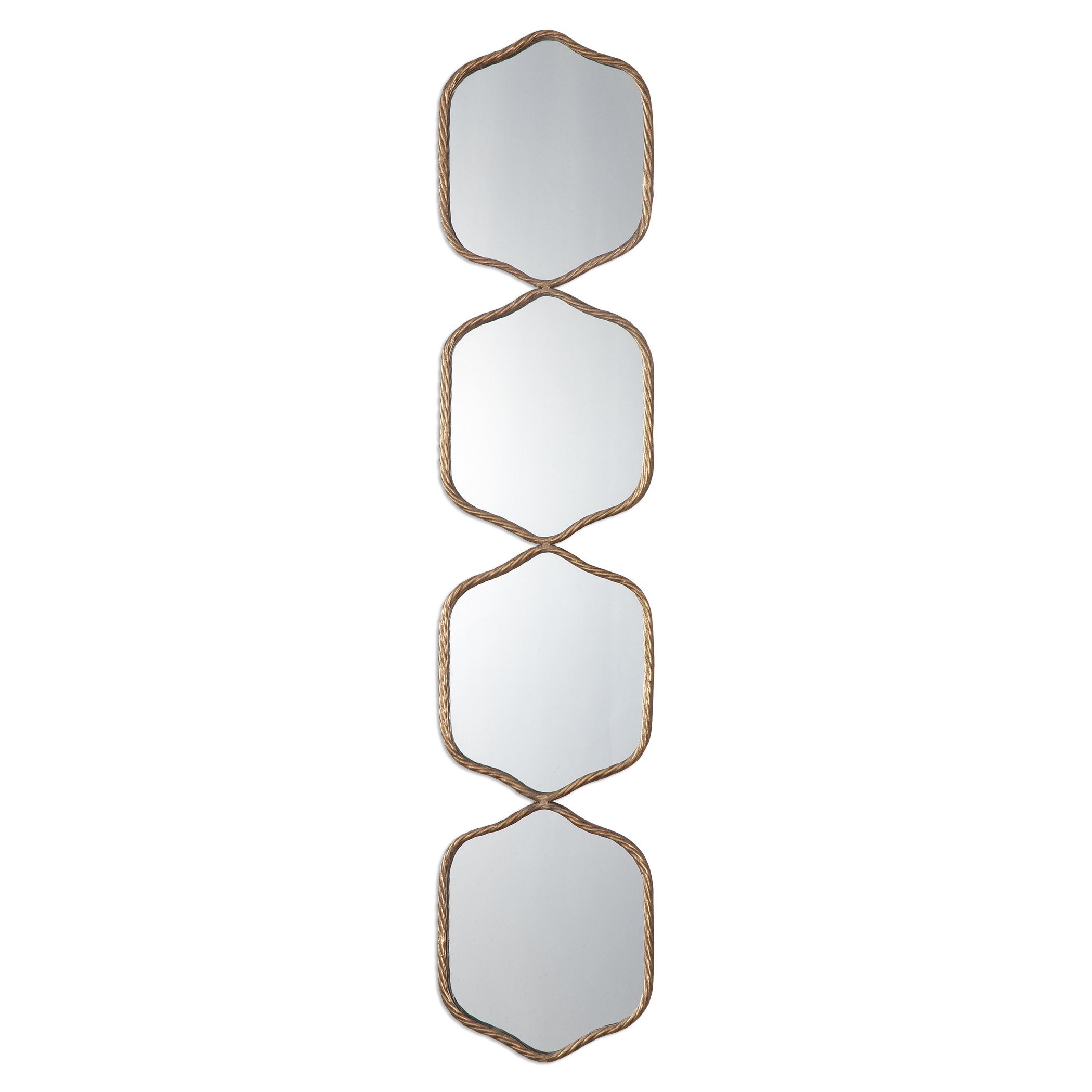 Uttermost Mirrors Myriam Twisted Iron Mirror - Item Number: 09058