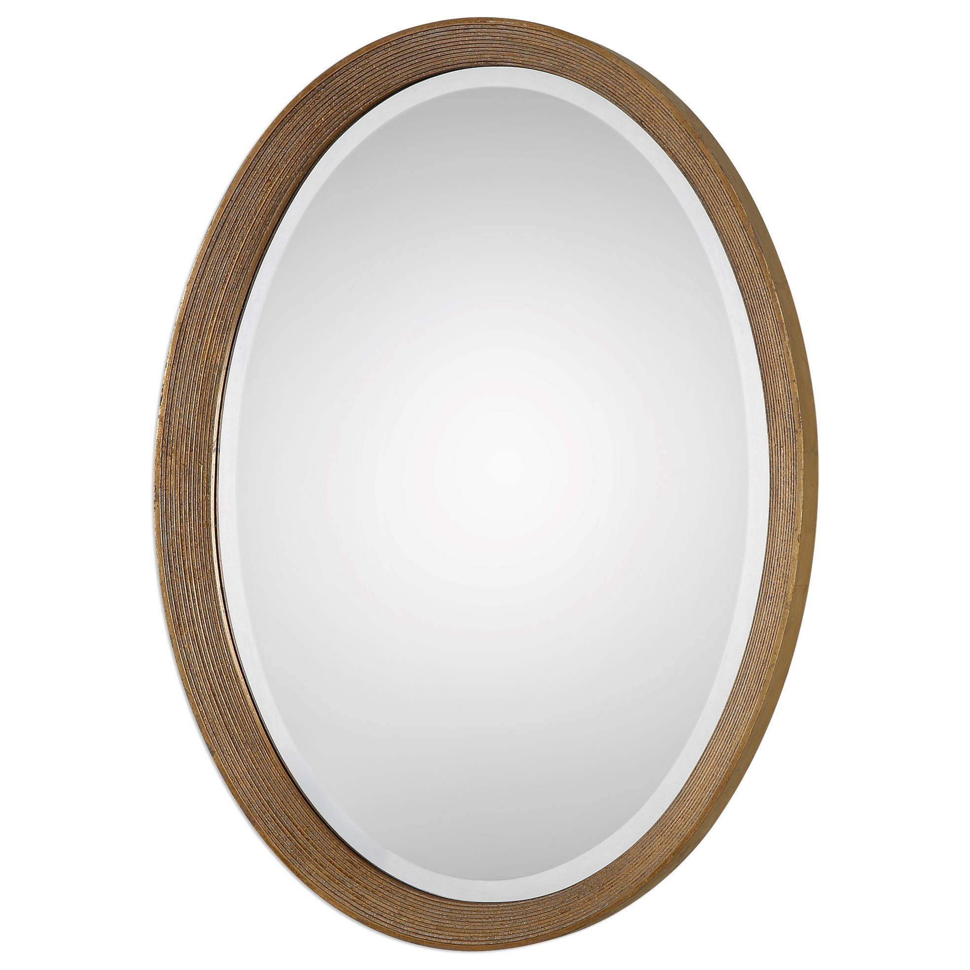 Uttermost Mirrors Arena Oval Mirror - Item Number: 09061