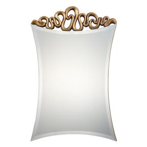 Uttermost Mirrors Essonne Antiqued Gold Mirror