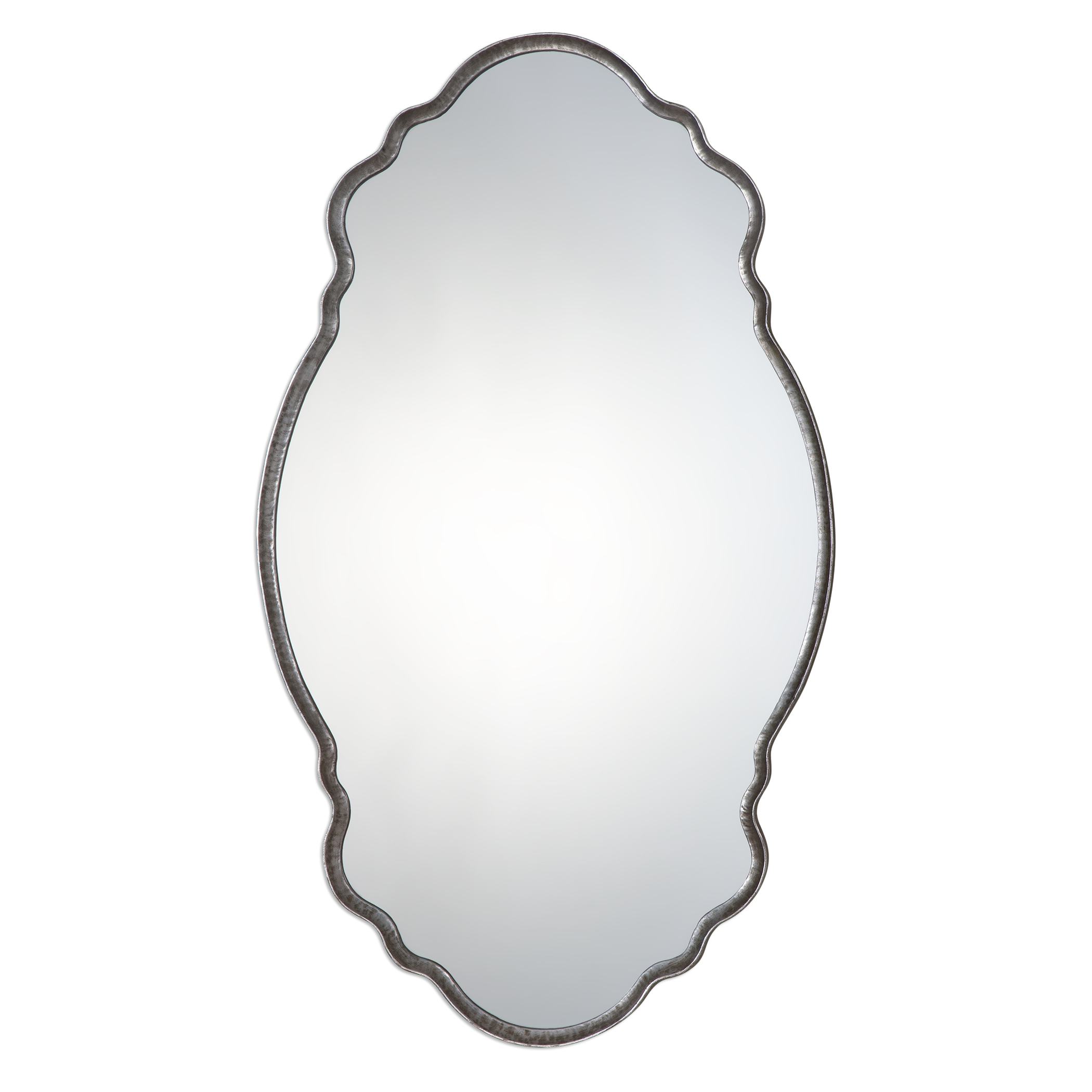 Uttermost Mirrors Samia Silver Mirror - Item Number: 09077