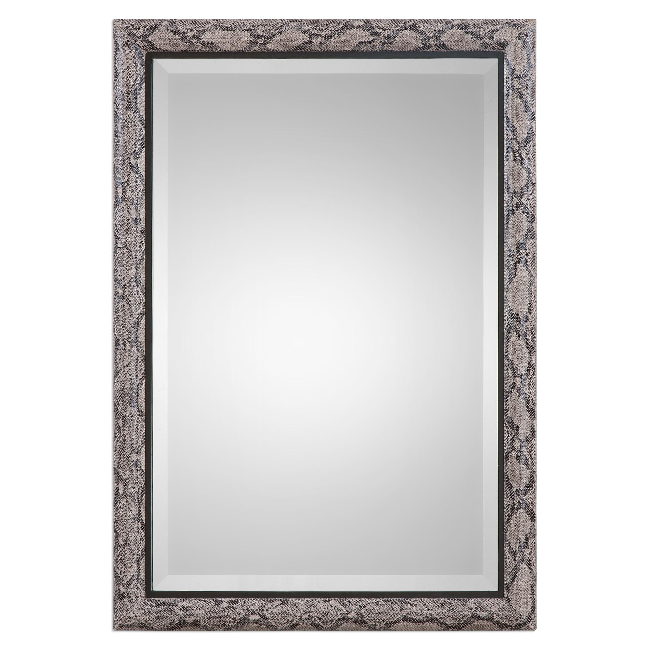 Uttermost Mirrors Drakon Snakeskin Mirror - Item Number: 09079