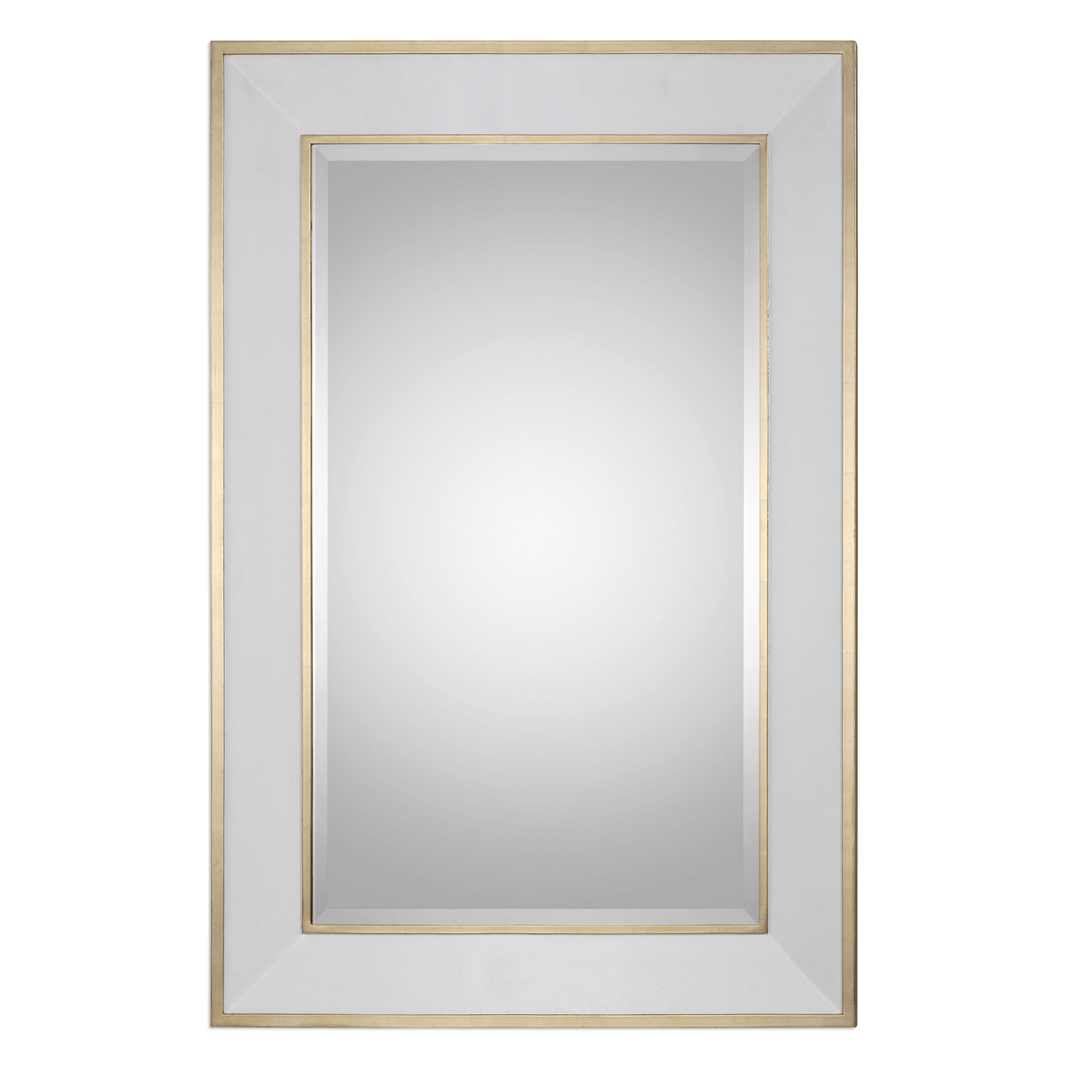 Uttermost Mirrors Cormor White Mirror - Item Number: 09082