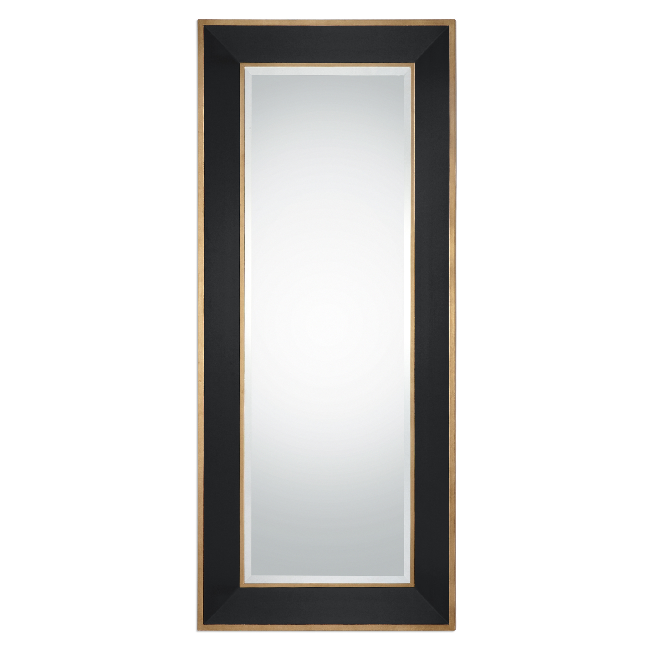 Uttermost Mirrors Cormor Black Mirror - Item Number: 09083