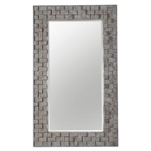 Uttermost Mirrors Beasley Wood Block Mirror