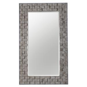 Uttermost Mirrors Beasley Wood Block Mirror